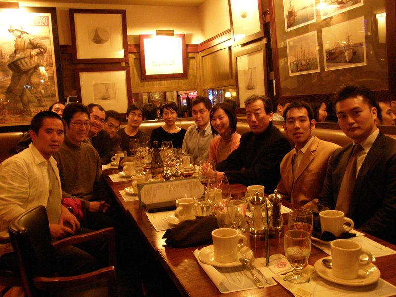 Dinner with Students Harvard